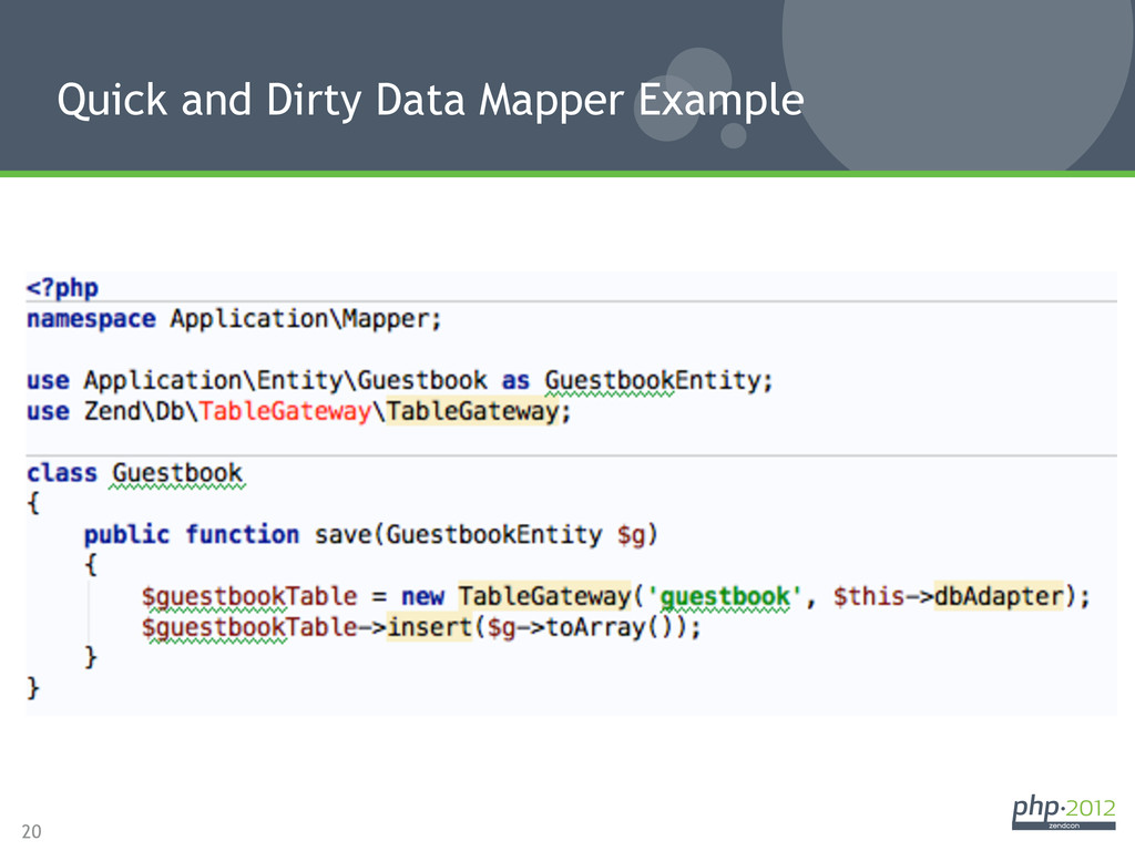 20 Quick and Dirty Data Mapper Example