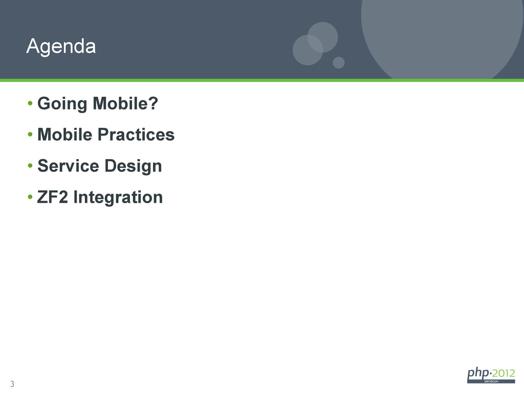 3 •Going Mobile? •Mobile Practices •Service ...