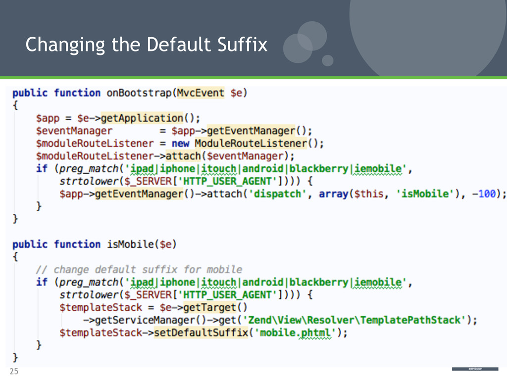 25 Changing the Default Suffix