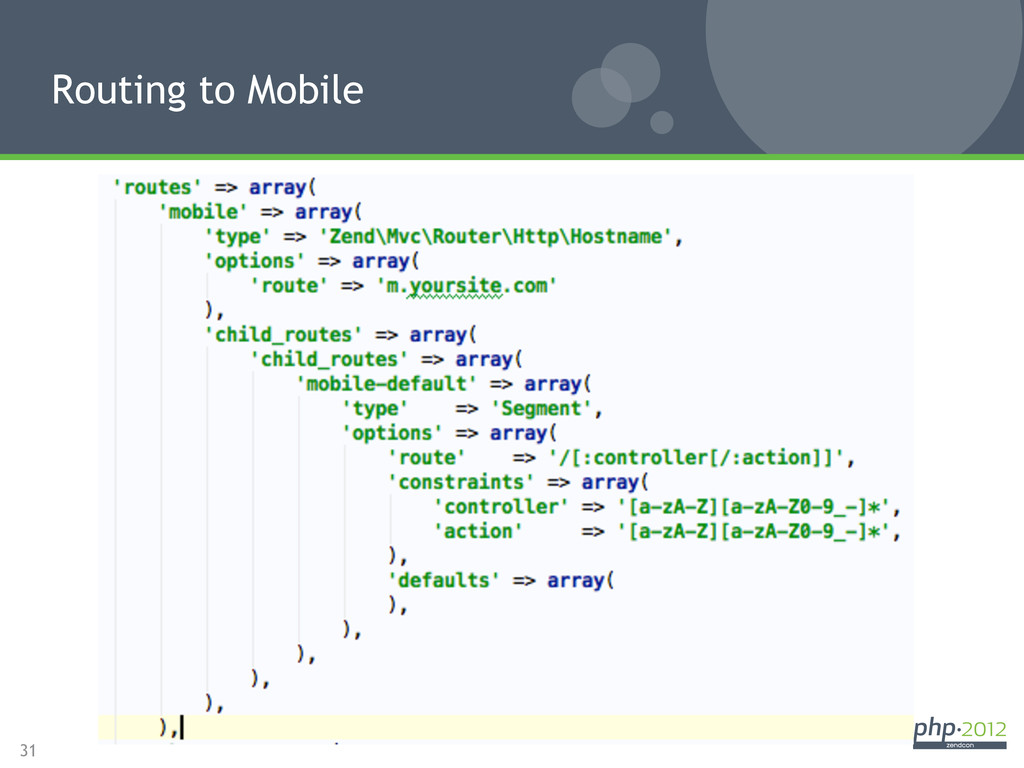 31 Routing to Mobile