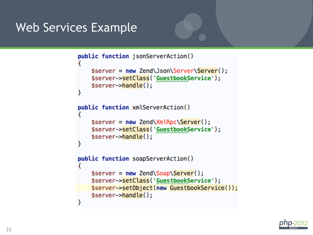 33 Web Services Example