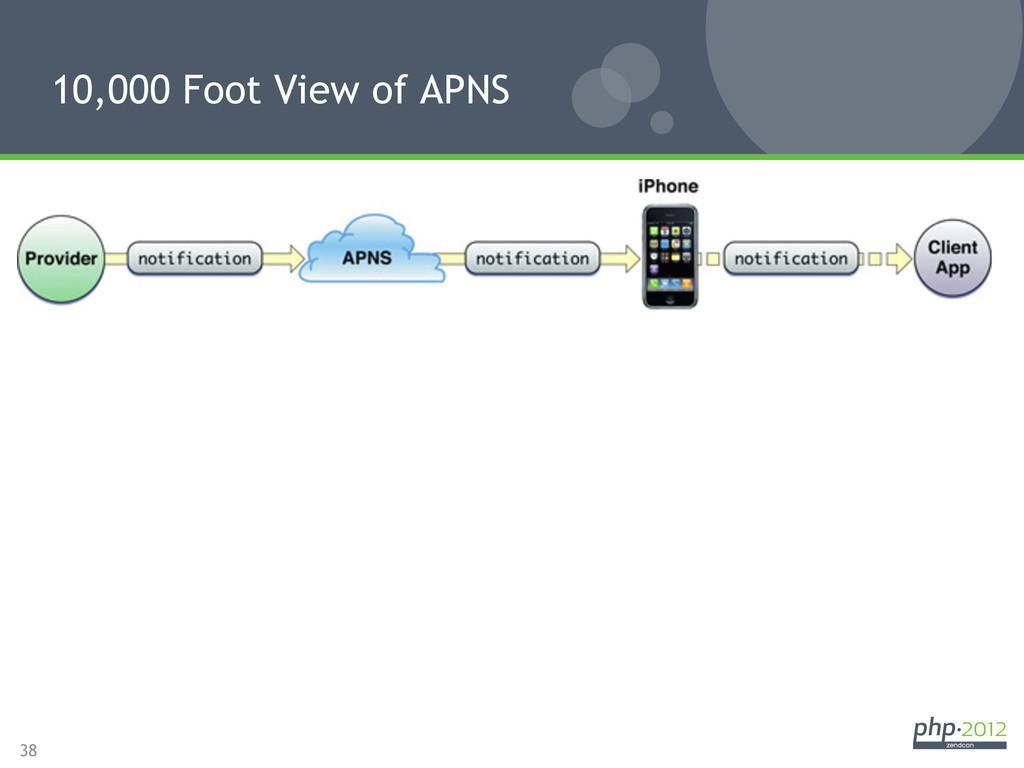 38 10,000 Foot View of APNS