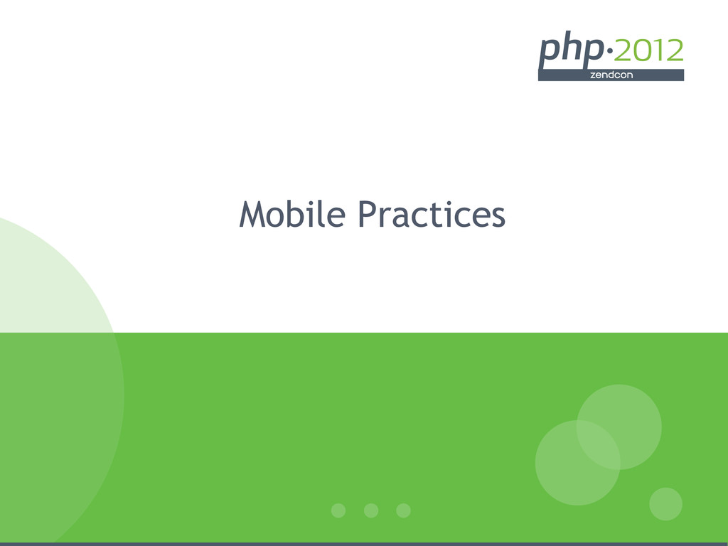 Mobile Practices