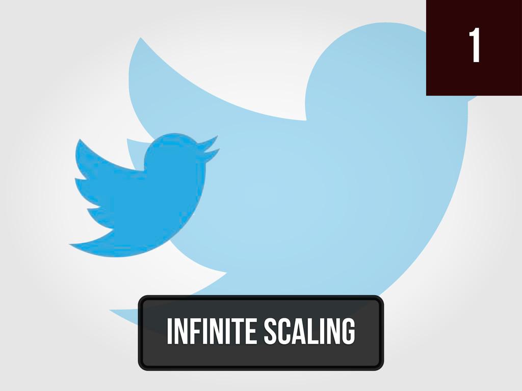 1 infinite scaling
