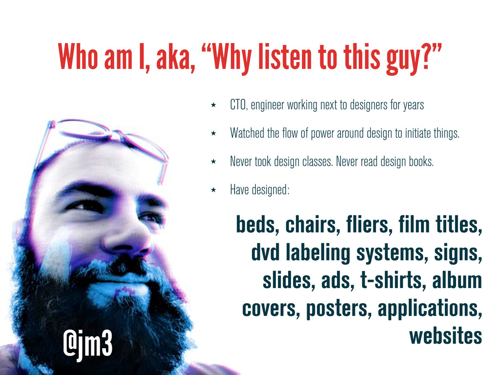 """Who am I, aka, """"Why listen to this guy?"""" ★ CTO,..."""