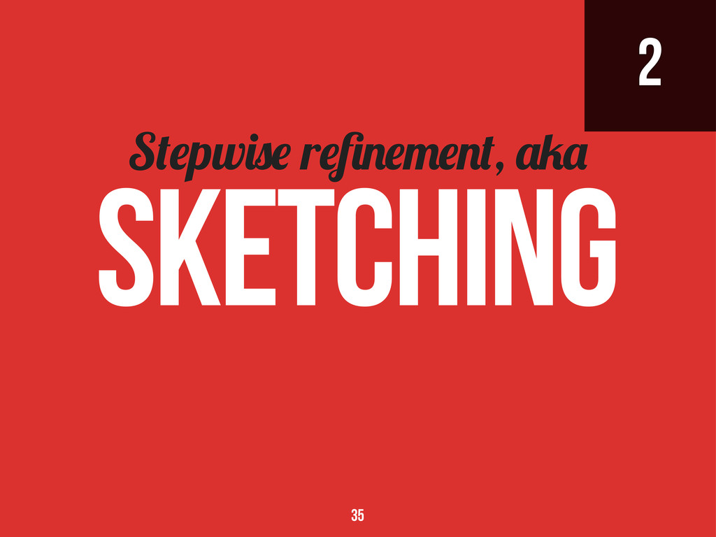 2 S pw r , Sketching 35