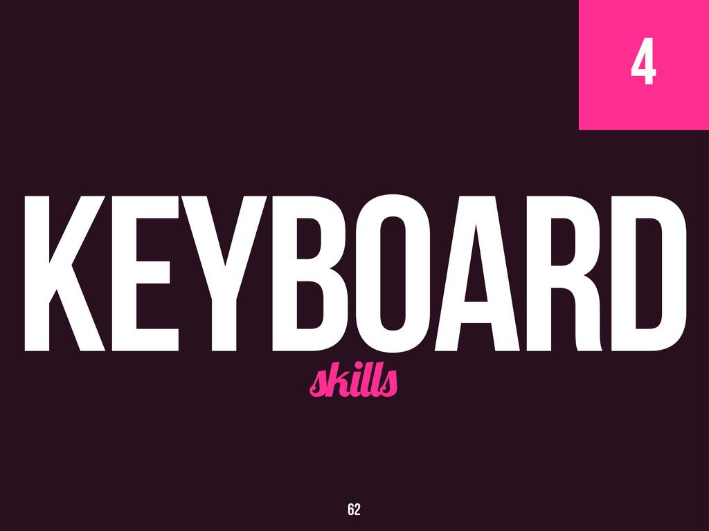 4 Keyboard 62