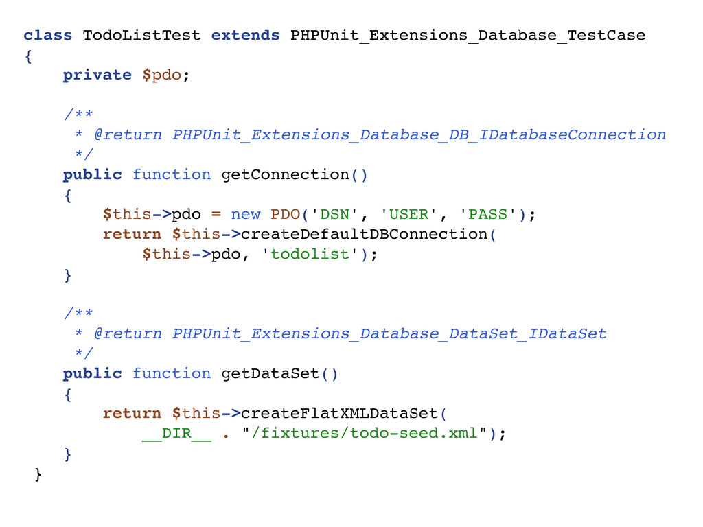 class TodoListTest extends PHPUnit_Extensions_D...