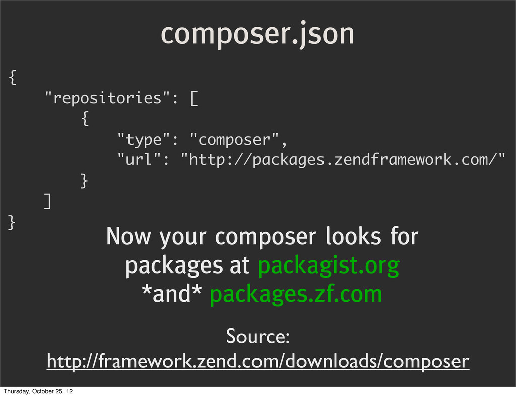 "composer.json { ""repositories"": [ { ""type"": ""co..."