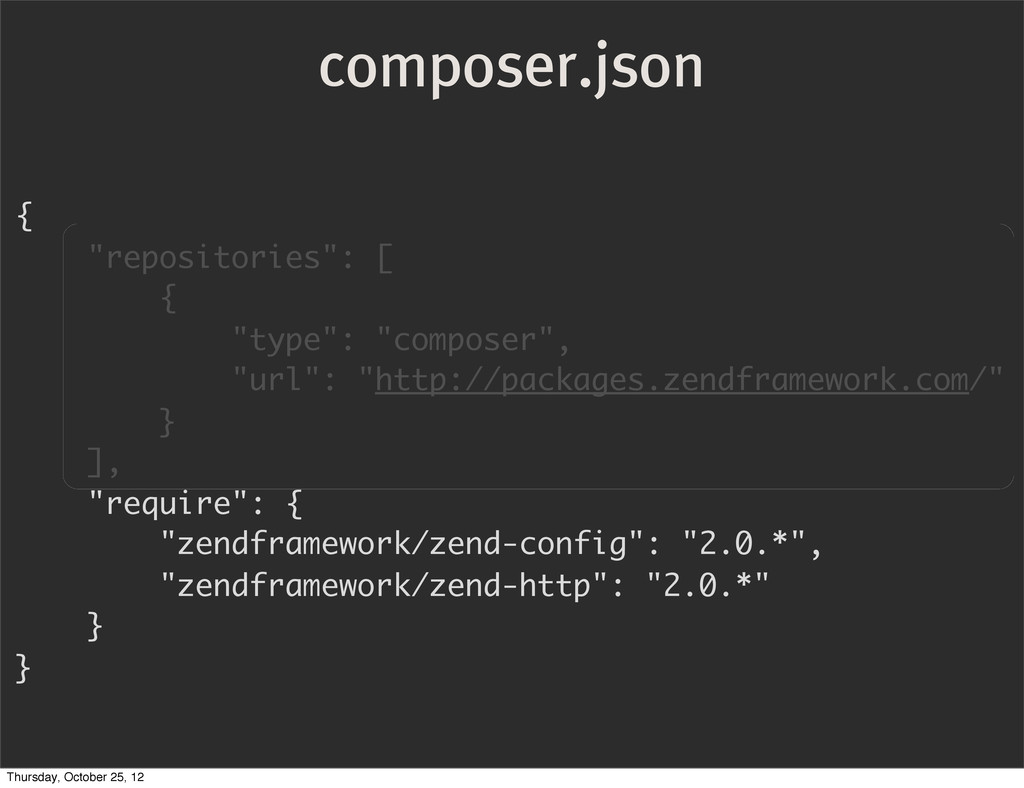 """composer.json { """"repositories"""": [ { """"type"""": """"co..."""