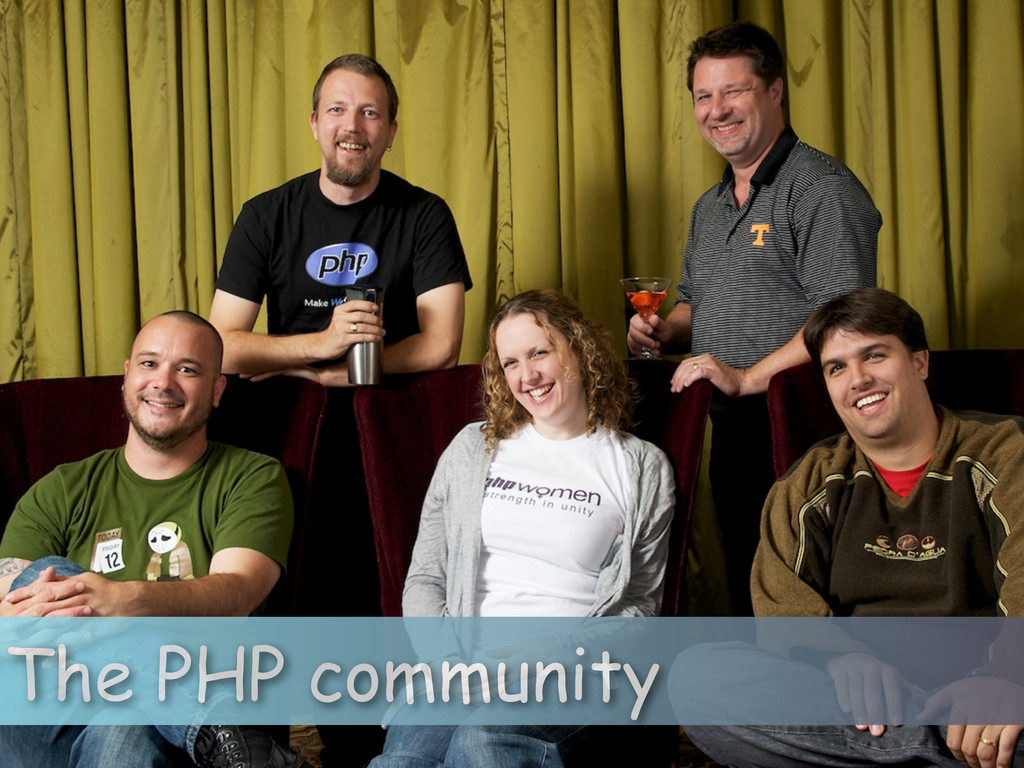 The PHP community