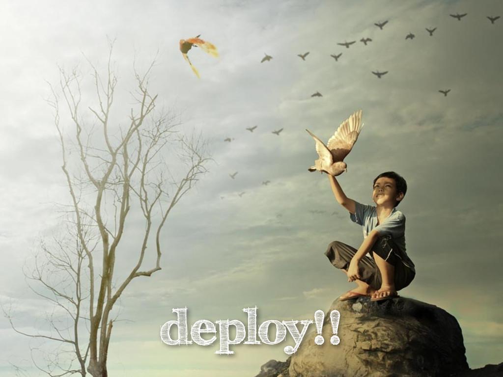 deploy!!