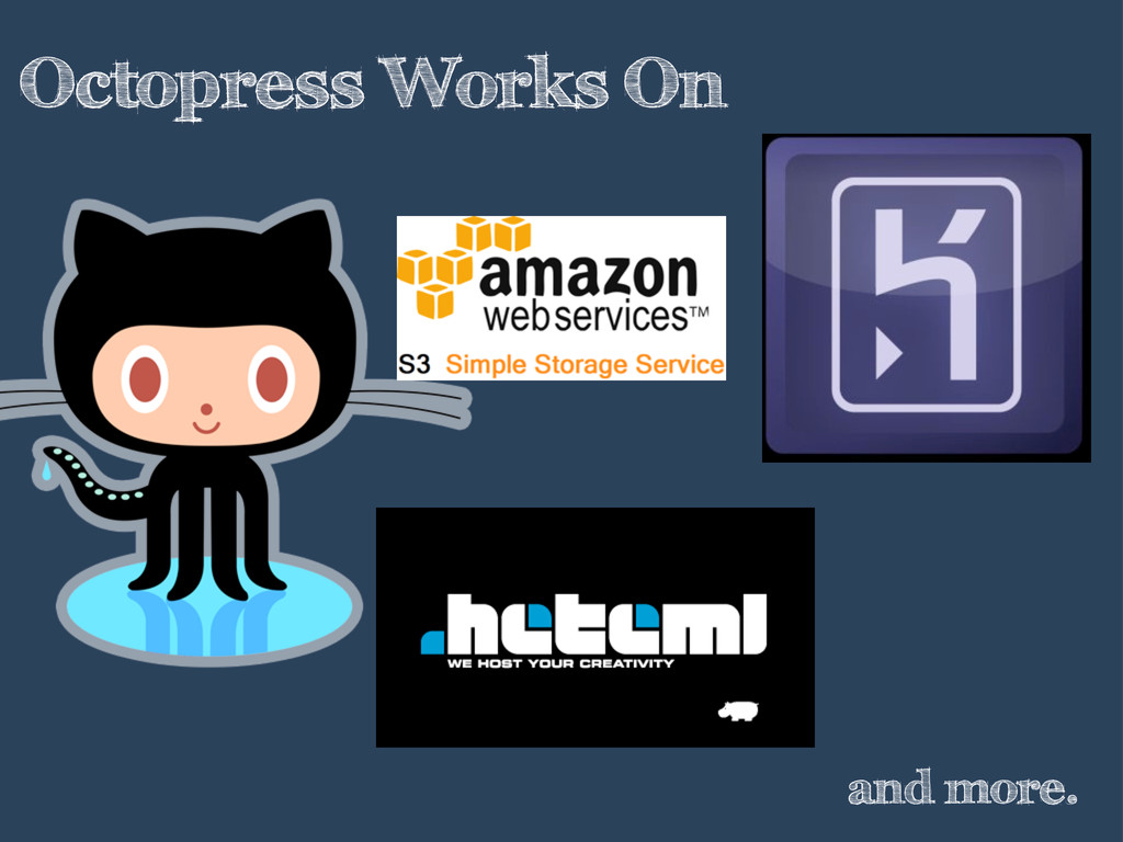 Octopress Works On and more.