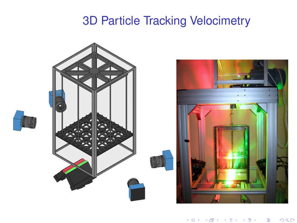 3D Particle Tracking Velocimetry . . . . . .