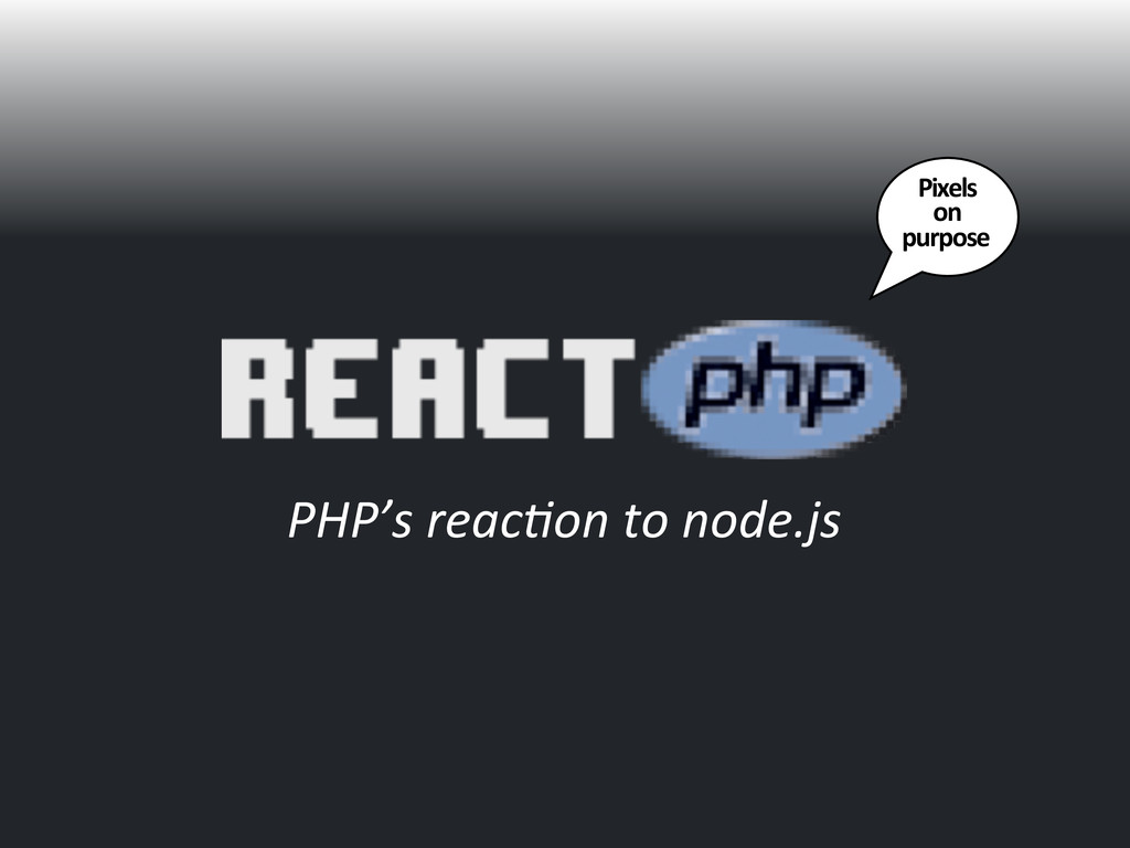 PHP's	