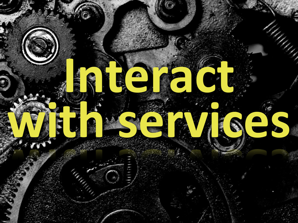 Interact	