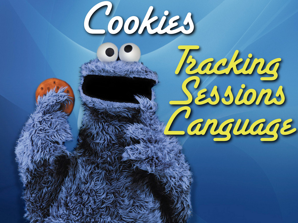 Cookies Tracking Sessions Language