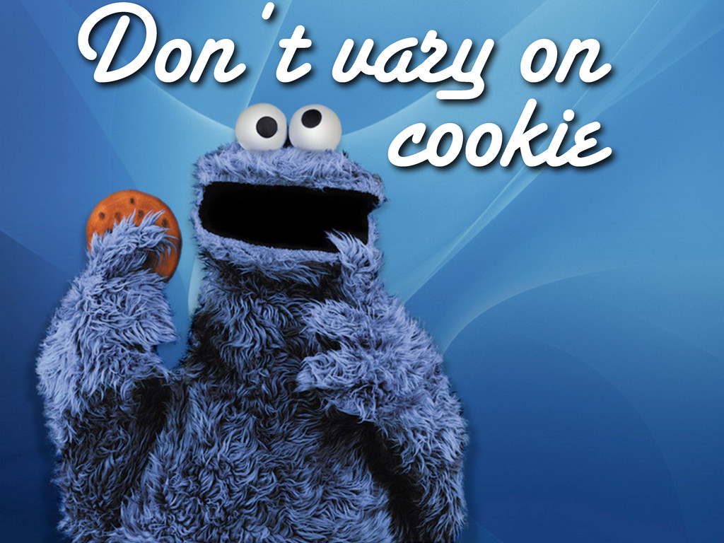 Don't vary on cookie