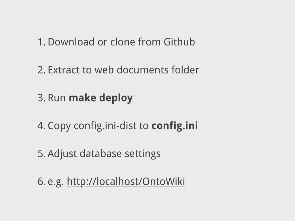 1. Download or clone from Github 2. Extract to ...