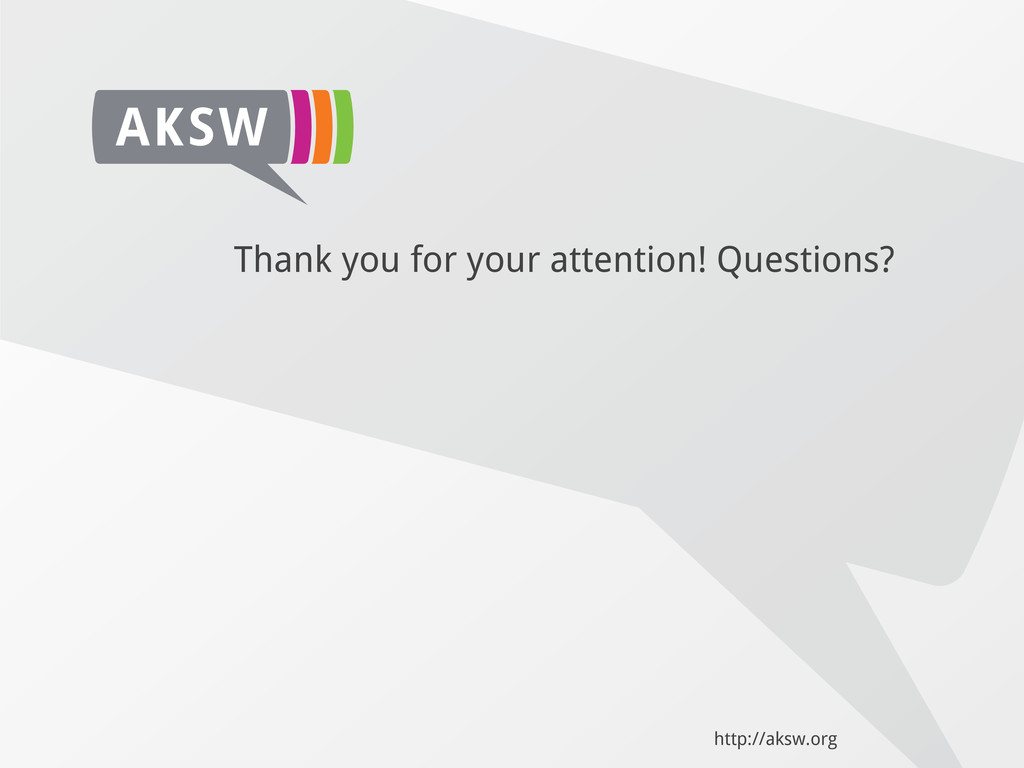 Thank you for your attention! Questions? http:/...