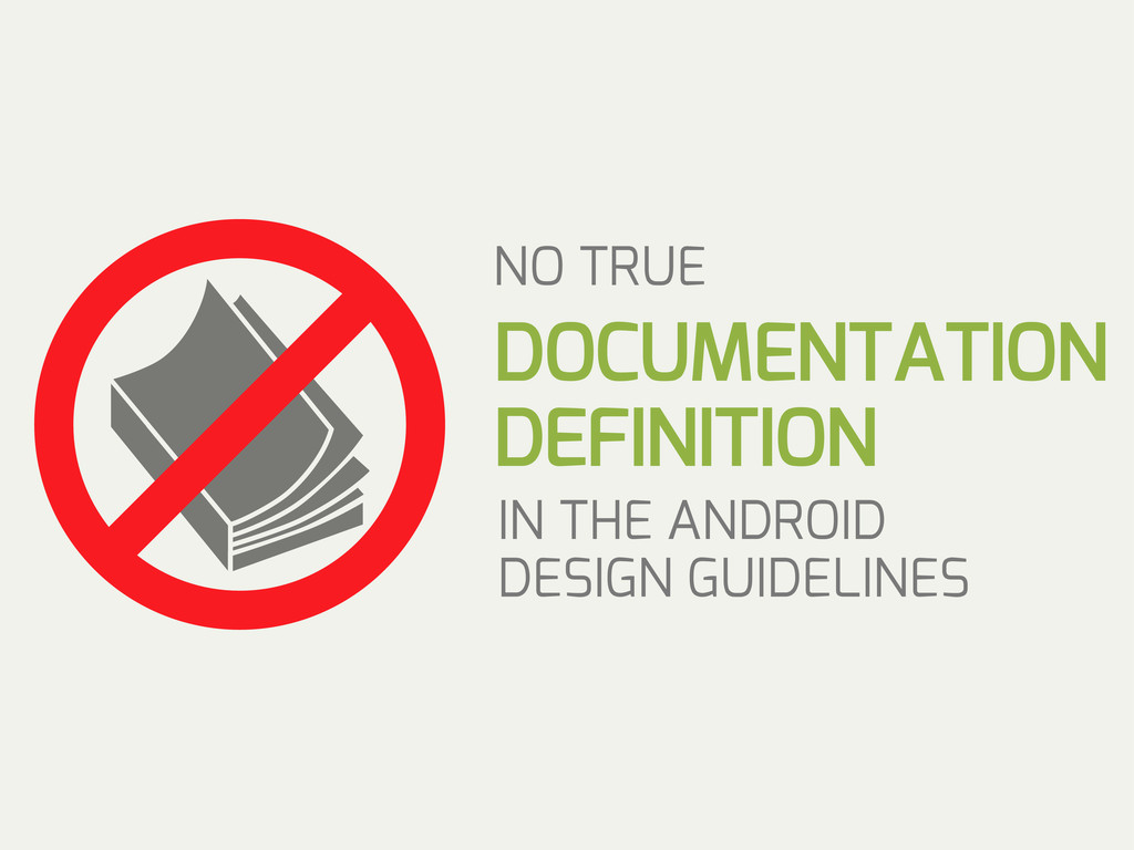 NO TRUE DOCUMENTATION DEFINITION IN THE ANDROID...