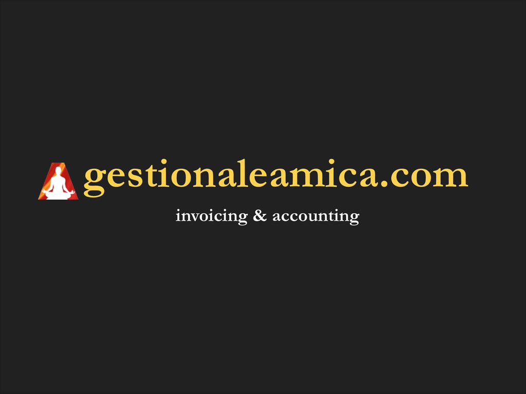gestionaleamica.com invoicing & accounting