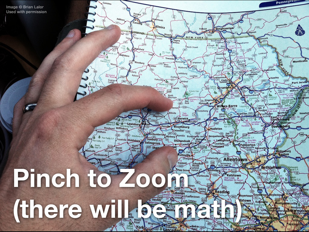 Pinch to Zoom (there will be math) Image © Bria...