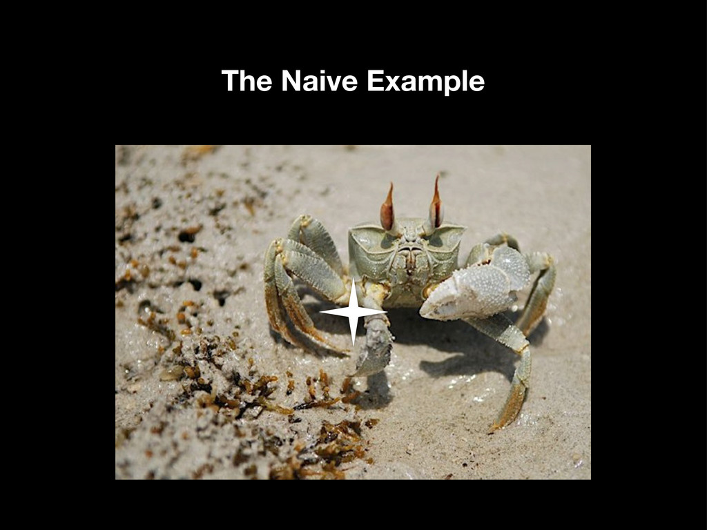 The Naive Example