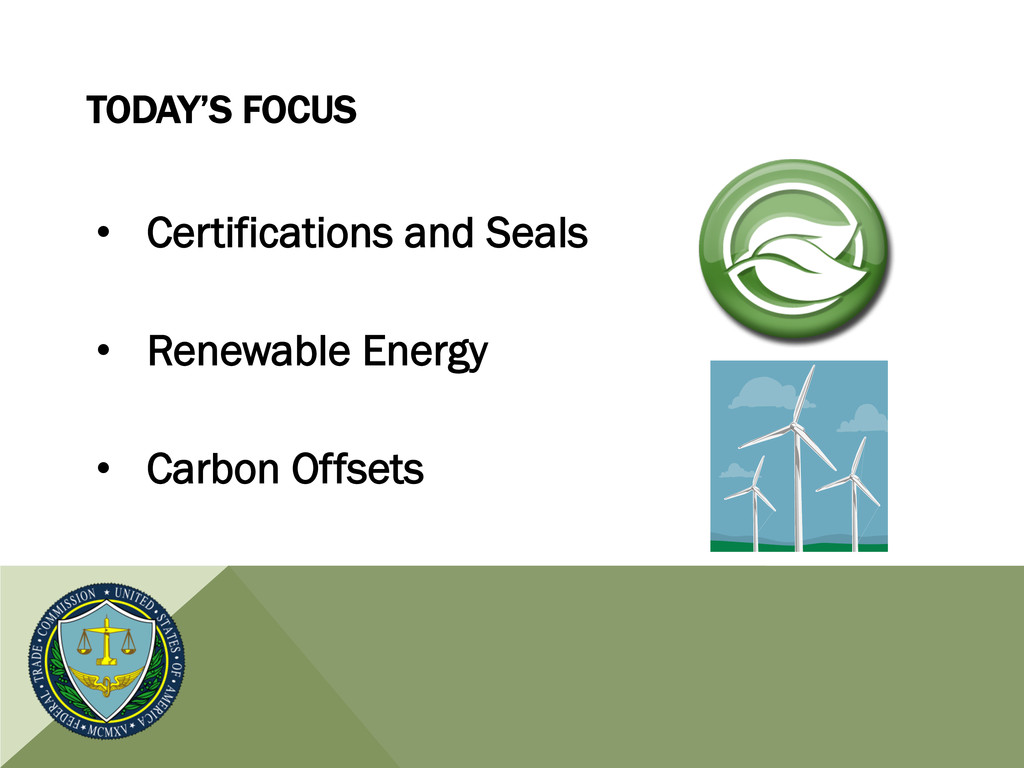 TODAY'S FOCUS • Certifications and Seals • Re...