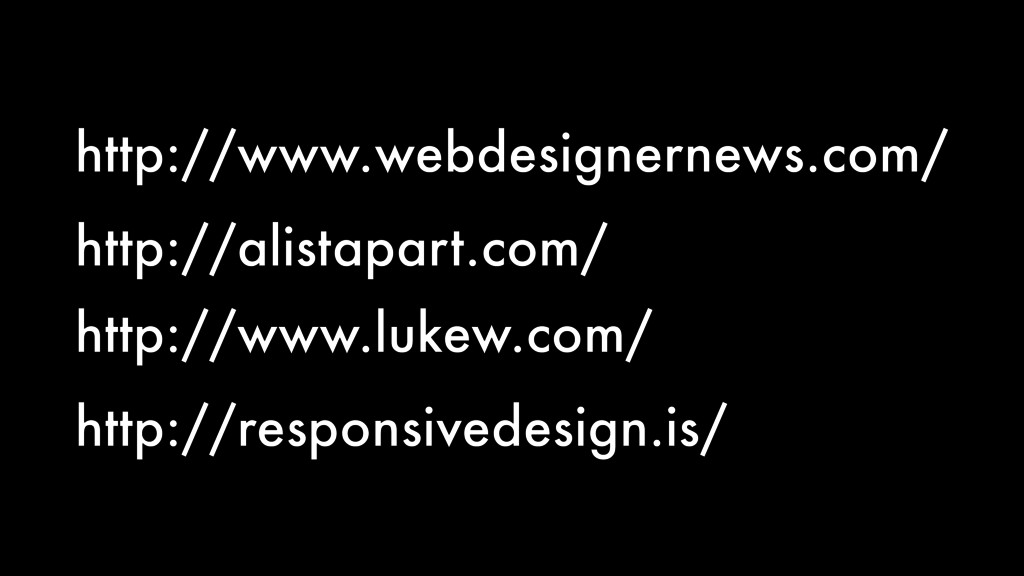 http://www.webdesignernews.com/ http://alistapa...