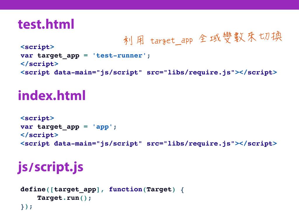 test.html <script> var target_app = 'test-runne...