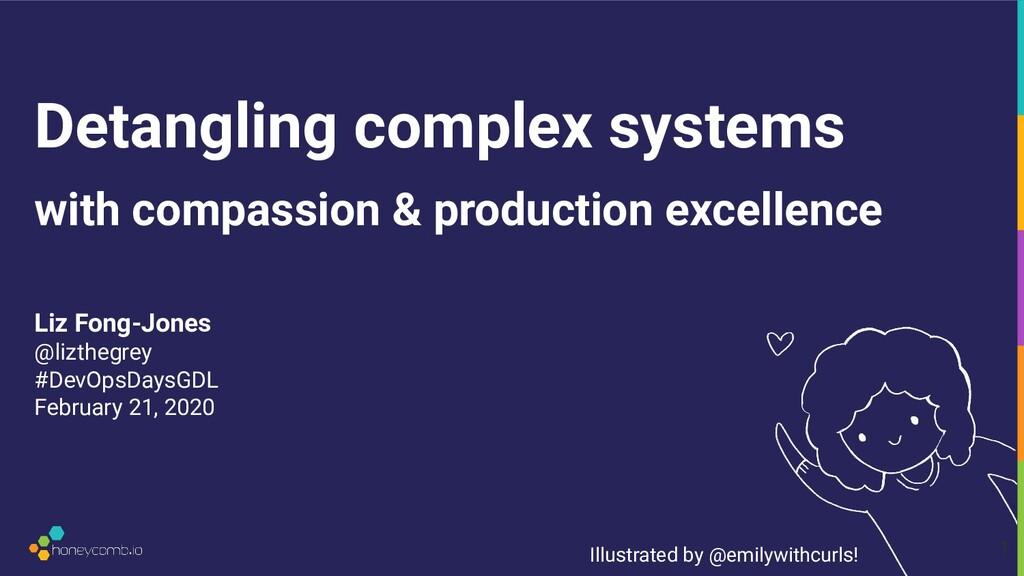 Detangling complex systems Liz Fong-Jones @lizt...