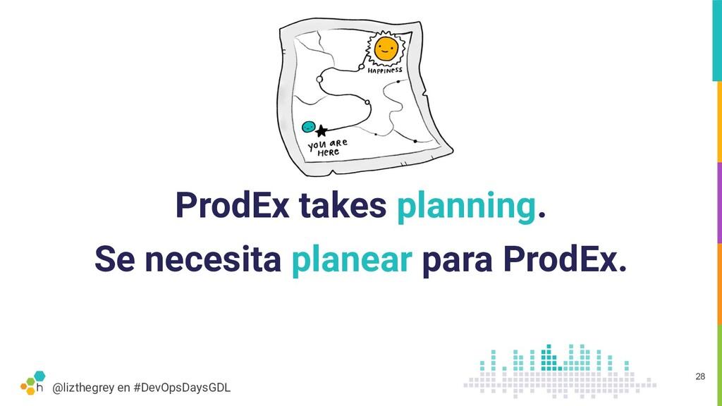 @lizthegrey en #DevOpsDaysGDL ProdEx takes plan...