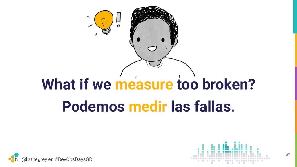 @lizthegrey en #DevOpsDaysGDL What if we measur...