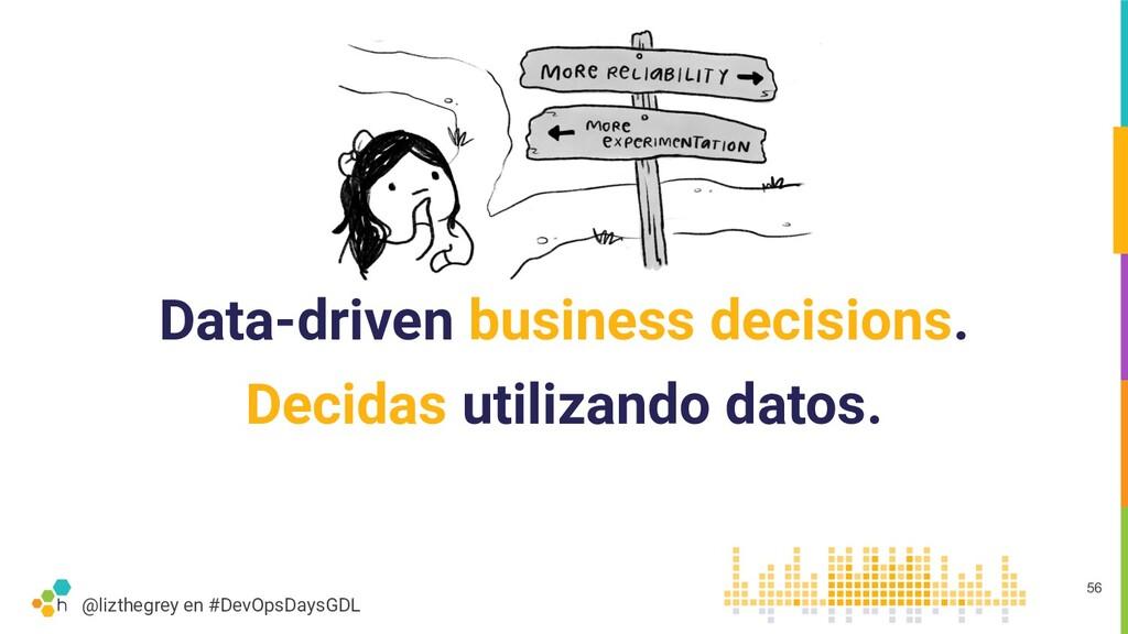 @lizthegrey en #DevOpsDaysGDL Data-driven busin...