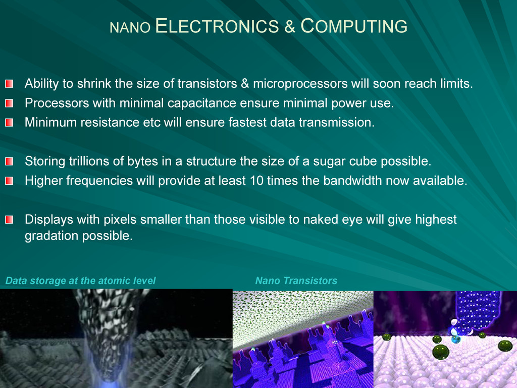 Ability to shrink the size of transistors & mic...