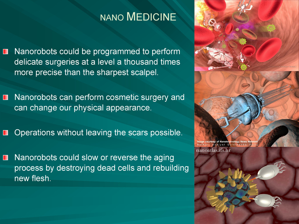 Nanorobots could be programmed to perform delic...