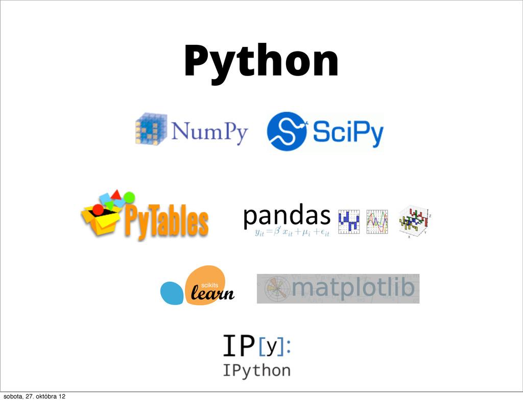 Python sobota, 27. októbra 12