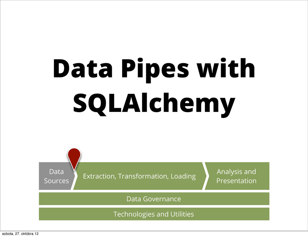 Data Pipes with SQLAlchemy Data Governance Anal...