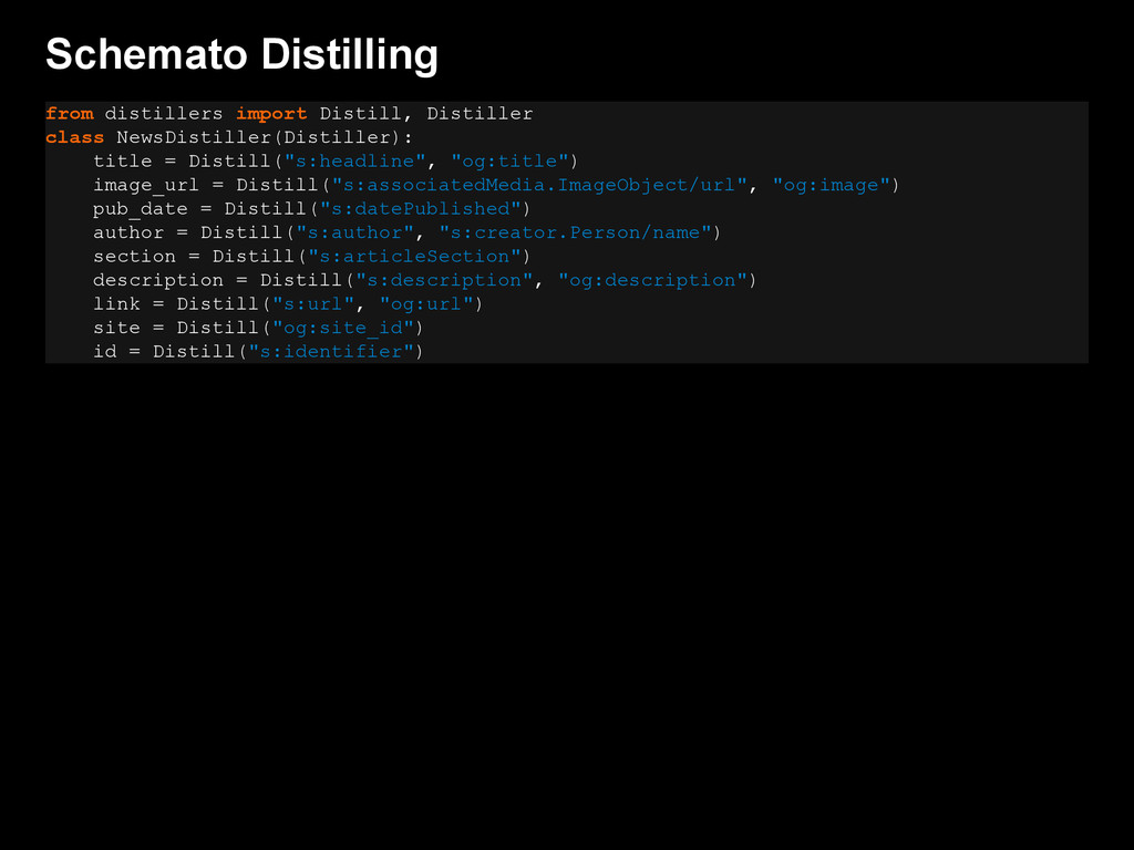 Schemato Distilling from distillers import Dist...