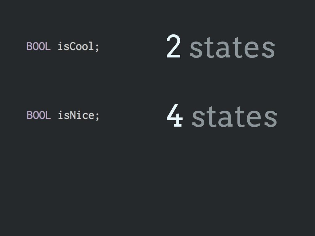 2 states 4 states