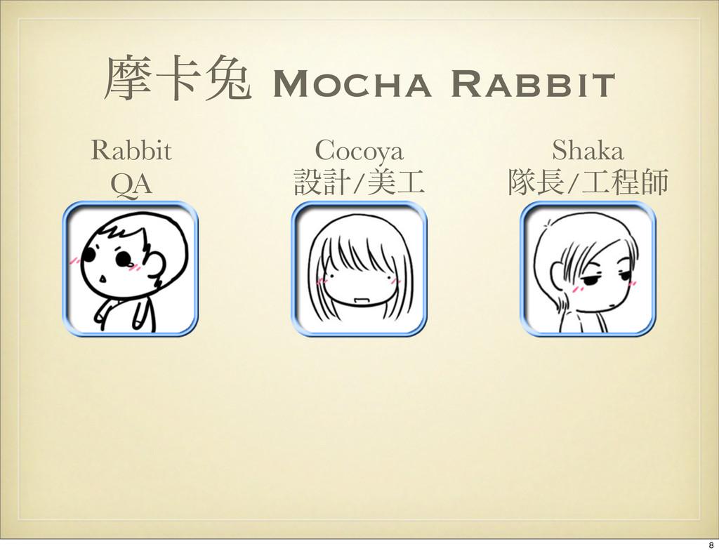 ຎ㠡ၴ Mocha Rabbit Shaka ୂ/ఔࢣ Cocoya ઃܭ/ඒ Rabb...