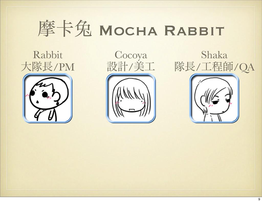 ຎ㠡ၴ Mocha Rabbit Shaka ୂ/ఔࢣ/QA Cocoya ઃܭ/ඒ R...