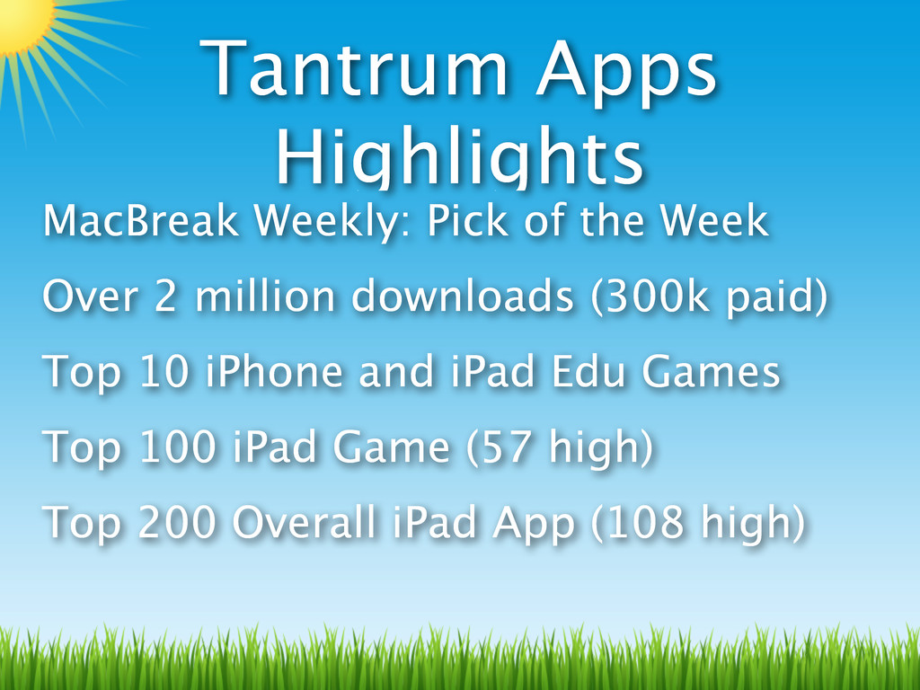 Tantrum Apps Highlights MacBreak Weekly: Pick o...