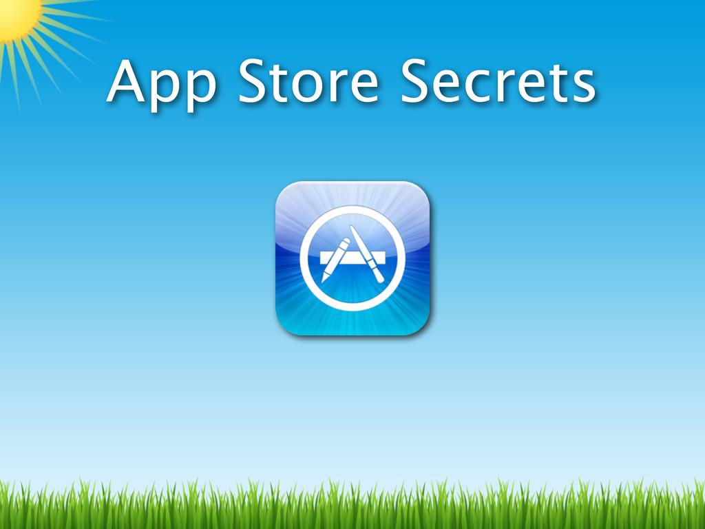 App Store Secrets