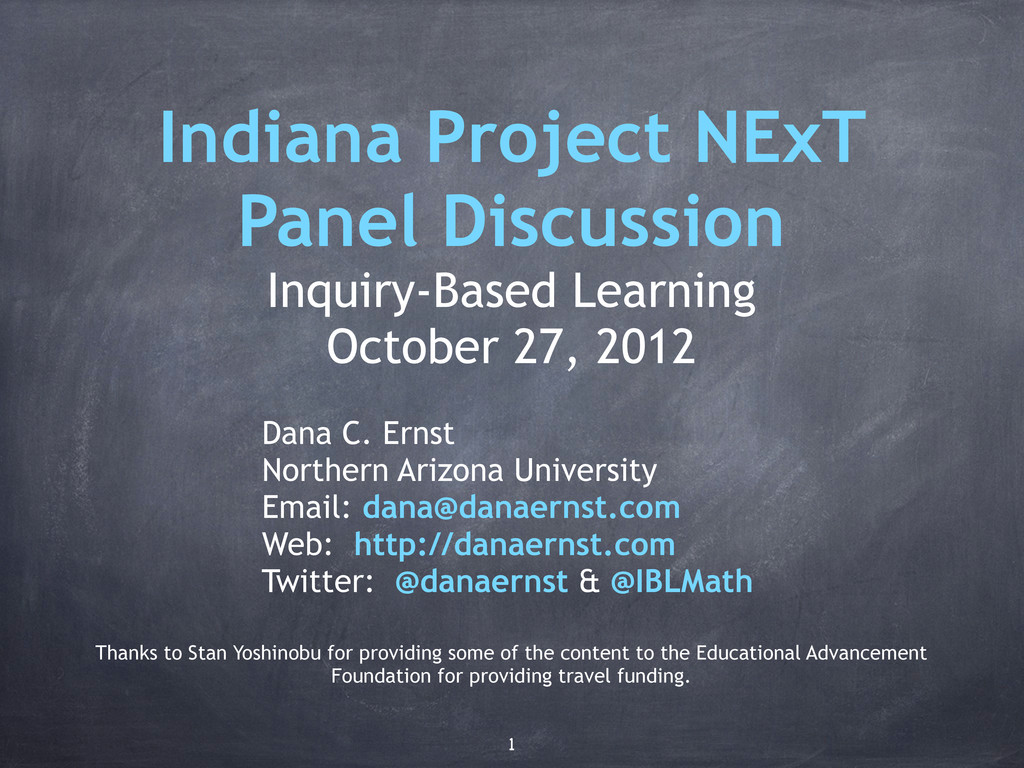 Indiana Project NExT Panel Discussion Inquiry-B...
