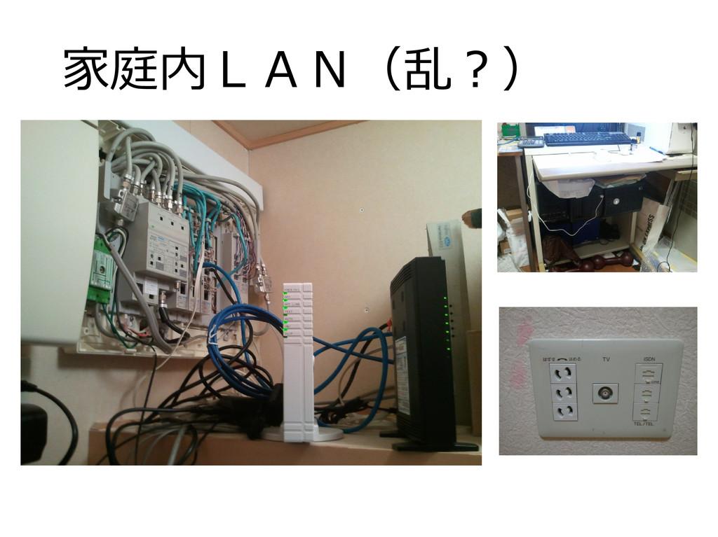 家庭内LAN(乱?)