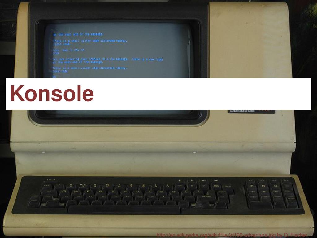 Konsole http://en.wikipedia.org/wiki/File:Vt100...