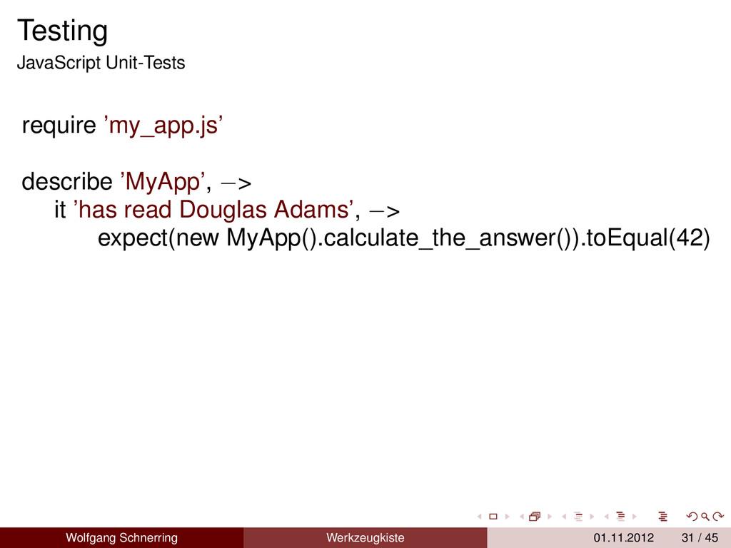 Testing JavaScript Unit-Tests require 'my_app.j...