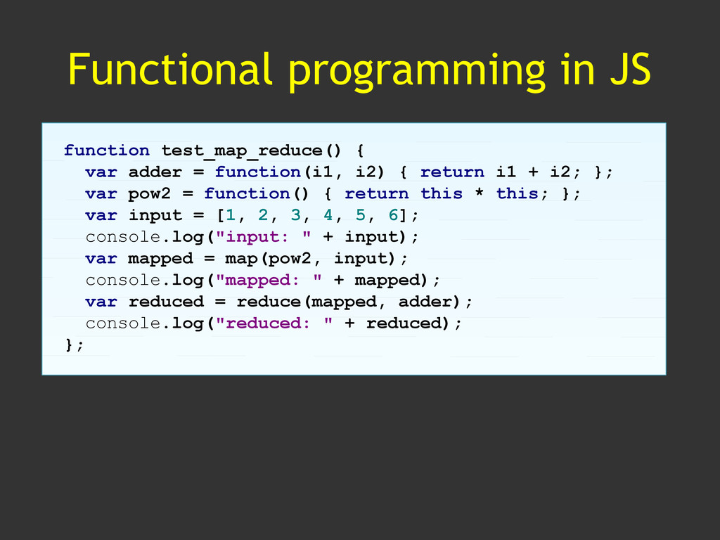 Functional programming in JS function test_map_...